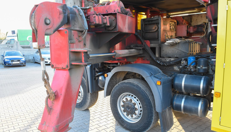 laweta ciężarowa